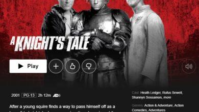 Photo of ¿Es A Knight's Tale en Netflix? Cómo ver el cuento de un caballero en Netflix EE. UU. Desde cualquier lugar
