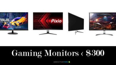 Photo of Mejor monitor de juegos por menos de $ 300 (reseñas) en 2020