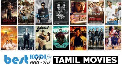 Photo of Películas tamiles, programas en Kodi: los mejores complementos tamil para ver en 2020