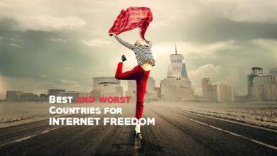 Photo of La mayoría de los países libres: mejores y peores países para la libertad en Internet