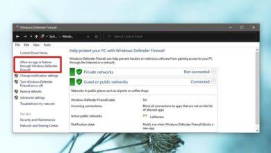 Photo of Cómo permitir que una aplicación se comunique a través de la red en Windows 10