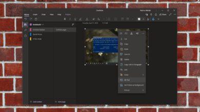 Photo of Cómo corregir la opción 'Copiar texto de la imagen' que falta en OneNote en Windows 10