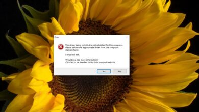 Photo of Cómo corregir 'El controlador que se está instalando no está validado para esta computadora' en Windows 10