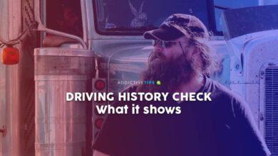 Photo of ¿Qué se muestra en una verificación del historial de conducción?
