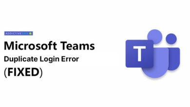 Photo of Cómo reparar el error de inicio de sesión duplicado de Microsoft Teams [Guía]