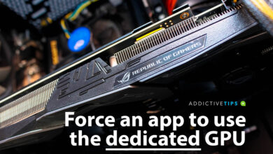 Photo of Cómo forzar a una aplicación a usar la GPU dedicada en Windows