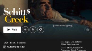 Photo of ¿Cuándo está Schitt's Creek (temporada 6) en Netflix? Cómo mirar desde cualquier lugar