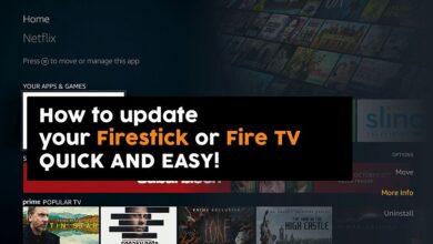 Photo of Cómo actualizar Amazon Firestick o Fire TV, rápido y fácil