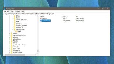 Photo of Cómo deshabilitar la navegación InPrivate en Microsoft Edge en Windows 10