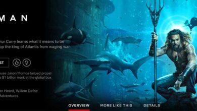 Photo of ¿Aquaman está en Netflix? Cómo verlo en tu país