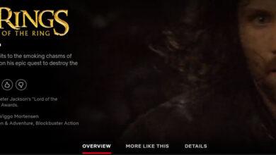 Photo of ¿El señor de los anillos está en Netflix? Cómo mirar en Netflix EE. UU.