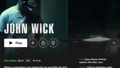Photo of Cómo ver la trilogía de John Wick en Netflix