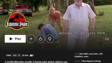 Photo of Cómo ver la trilogía de Jurassic Park en Netflix EE. UU. Desde cualquier lugar