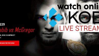 Photo of Mira Khabib vs McGregor en Kodi: transmisiones en vivo para UFC 229 Khabib vs McGregor