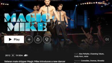 Photo of ¿Está Magic Mike en Netflix? Cómo ver Magic Mike desde cualquier lugar