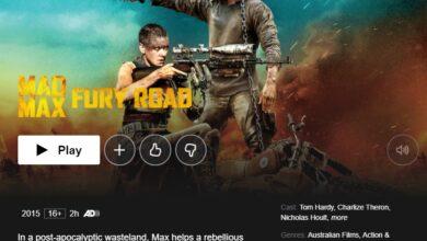 Photo of Cómo ver Mad Max: Fury Road en Netflix desde cualquier lugar