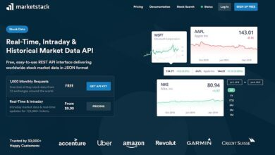 Photo of REVISIÓN de Marketstack: API de datos de mercado en tiempo real, intradía e históricos