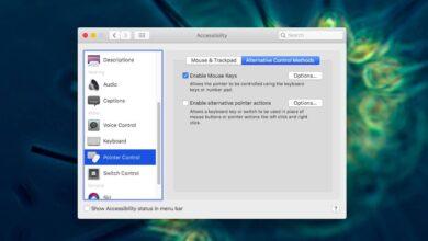 Photo of Cómo mover el cursor con un teclado en macOS con teclas del mouse