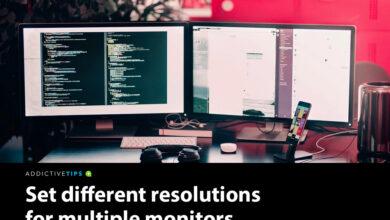 Photo of Cómo establecer diferentes resoluciones para varios monitores en Windows 10