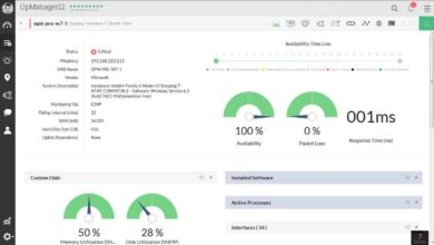 Photo of Revisión y calificación de ManageEngine OpManager para 2020