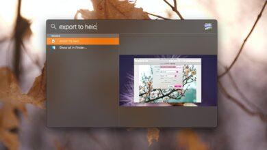 Photo of Cómo abrir un elemento en Finder desde Spotlight en macOS