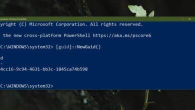 Photo of Cómo generar un GUID con PowerShell en Windows 10