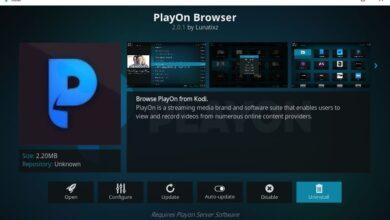 Photo of Complemento PlayOn Browser Kodi: cómo instalarlo y descripción general