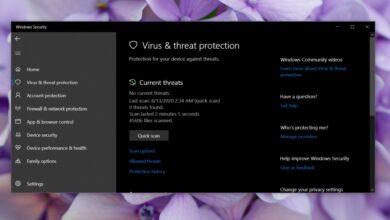 Photo of Cómo recuperar un archivo de Windows defender en Windows 10