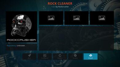 Photo of Limpiar Kodi con el limpiador de rocas de Rock Crusher Repo