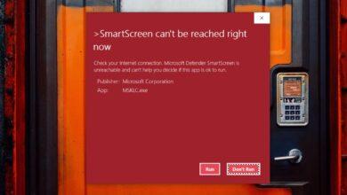 """Photo of Cómo solucionar """"No se puede acceder a SmartScreen en este momento"""" en Windows 10"""