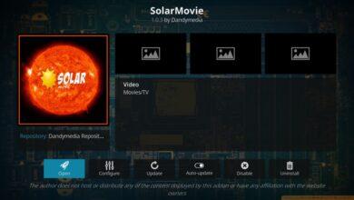 Photo of Complemento SolarMovie para Kodi: guía de instalación, mejores transmisiones de películas en Kodi