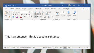 Photo of Cómo establecer reglas gramaticales para el espaciado después de un punto en Microsoft Word
