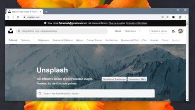 Photo of Cómo encontrar fotos de paisajes en Unsplash para fondos de pantalla
