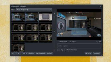 Photo of Carpeta de capturas de pantalla de Steam: ¿Dónde se guardan las capturas de pantalla de Steam?