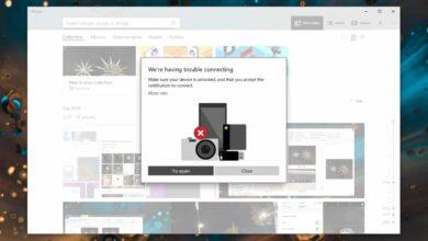 Photo of Cómo solucionar 'Problemas de conexión' al importar en la aplicación Fotos en Windows 10