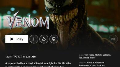 Photo of ¿Cómo ver Venom en Netflix desde cualquier lugar?