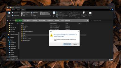 """Photo of Cómo corregir """"Actualmente no tiene permiso para acceder a esta carpeta"""" en Windows 10"""