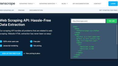 Photo of Web Scraping optimizado y totalmente personalizable con Zenscrape (revisión)