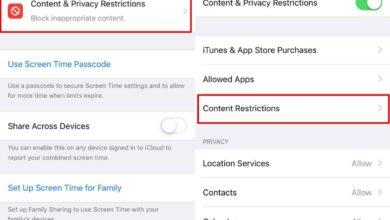 Photo of Cómo bloquear sitios web en iOS