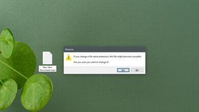 Photo of Cómo cambiar una extensión de archivo en Windows 10