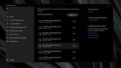 Photo of Cómo borrar el historial de protección en Windows Defender en Windows 10
