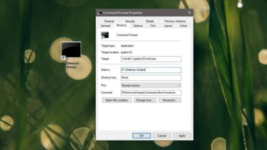 Photo of Cómo crear un acceso directo para abrir el símbolo del sistema en una carpeta en Windows 10
