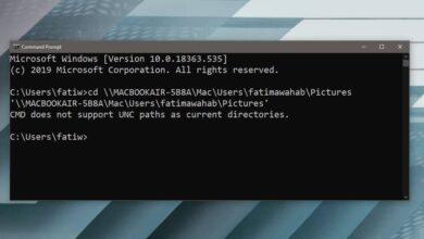 Photo of Cómo acceder a una ubicación de red en el símbolo del sistema en Windows 10