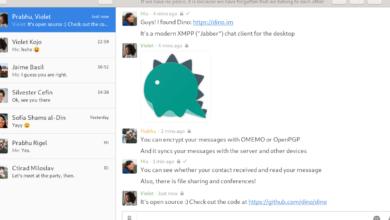 Photo of Cómo instalar el cliente Dino XMPP en Linux