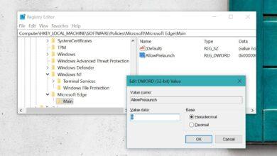 Photo of Cómo deshabilitar la precarga de Edge en el arranque del sistema en Windows 10