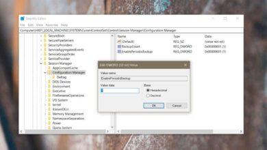 Photo of Cómo habilitar la copia de seguridad del registro en Windows 10
