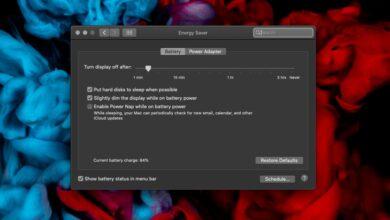 Photo of Cómo habilitar el modo de bajo consumo en una Mac