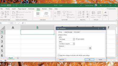 Photo of Cómo agregar un límite de caracteres a las celdas en Excel