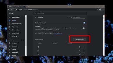 Photo of Cómo exportar contraseñas guardadas de Chrome en Windows 10