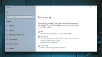 Photo of Cómo personalizar las horas de silencio, ahora Focus Assist en Windows 10